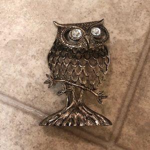 Fossil Owl Accent Decor